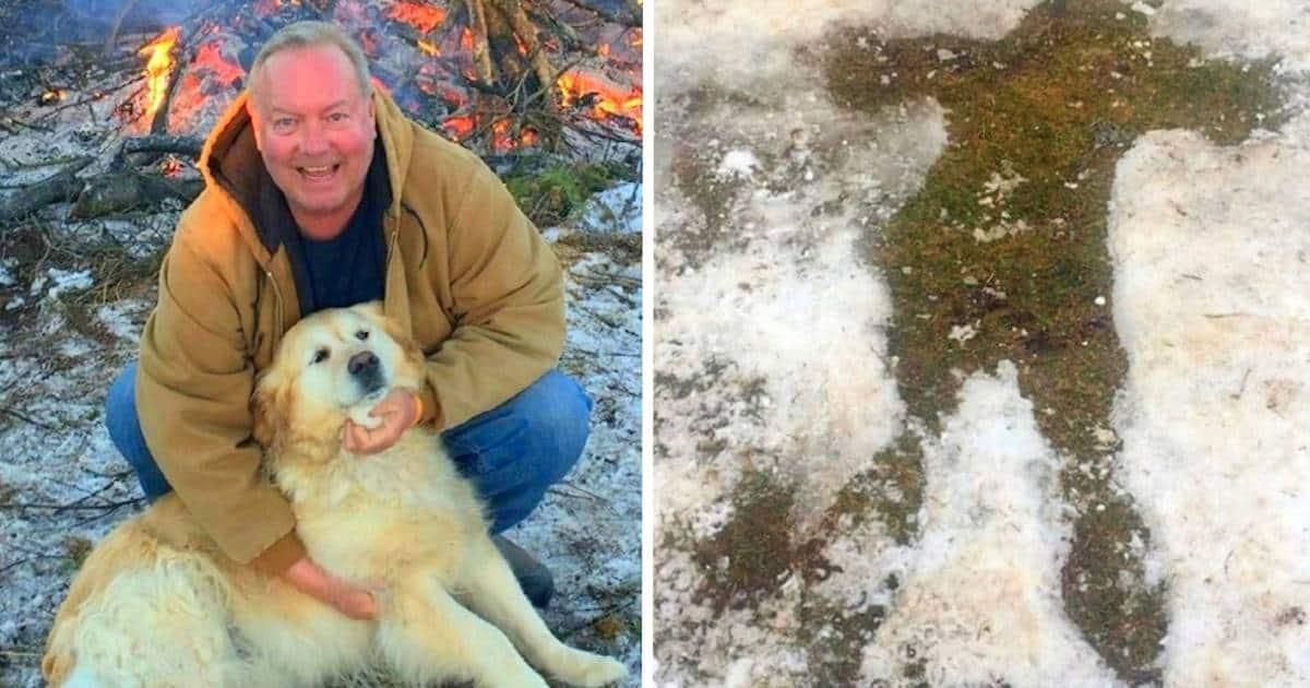 Golden Retriever Saves Owner from Freezing